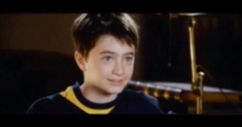 劇組釋出當年丹尼爾「參加哈利波特試鏡」的珍貴影片 超精湛演出讓人不相信他只有11歲...