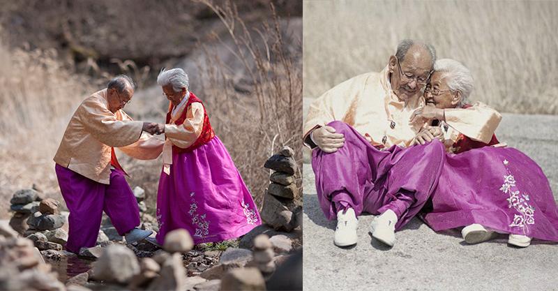 15歲就在一起「相愛75年」老夫婦天天像小情侶熱戀 老爺爺躺下那一刻才明白什麼是「牽手一生的愛戀」...
