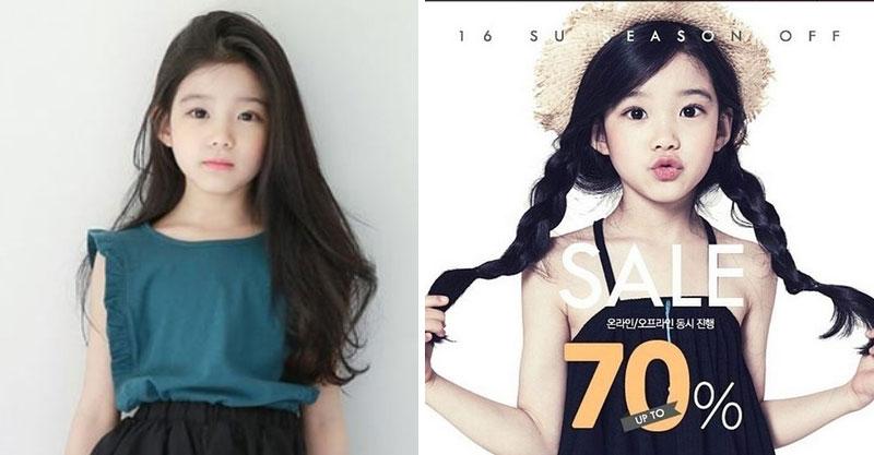 韓國8歲小女生被網友說是世界最美女生 她的哥哥居然長得比她好看!
