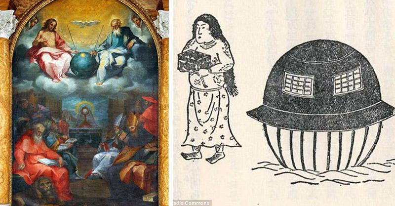 7個「證明外星人真的來過地球」的百年古代畫作 照在耶穌身上的光是暗號!