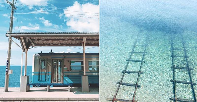 《神隱少女》的「水上車站」真實呈現 超美秘境還有小船可以搭!