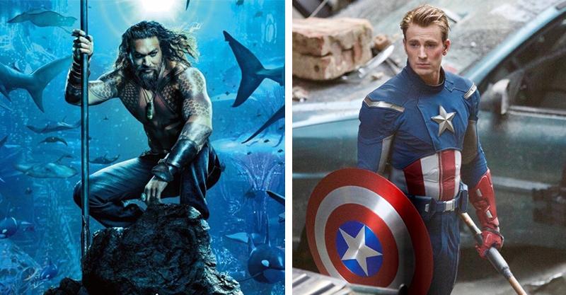 好萊塢Top30「肌肉繃開到女生都尖叫」的男星 水行俠vs.美國隊長只能比面積大小了!