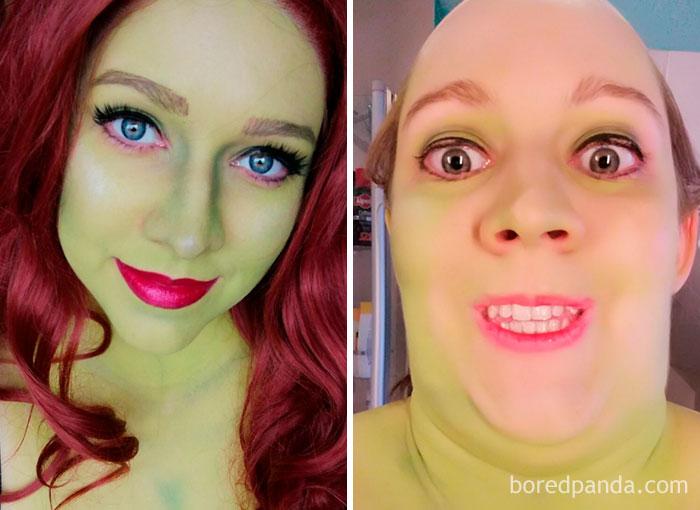 23張女人絕對是「世界上最狂的欺騙犯」 鏡頭45度角巫婆→仙女下凡♡