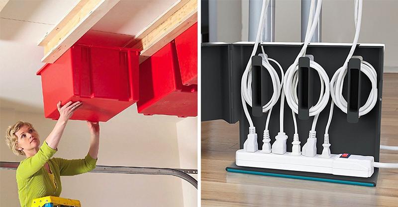 15個「做了之後家裡空間馬上大2倍」的專業收納法 防止小黑夾消失...只需要一個黑條!