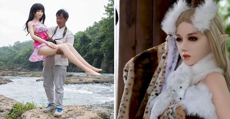 離婚爺爺砸60萬買「精靈系充氣娃」 路人伸鹹豬手卻被兒子警告:那是我妹!
