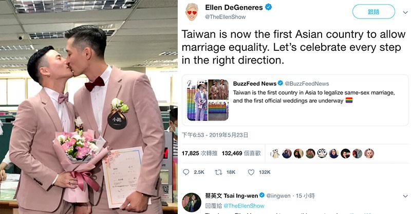 百對彩虹戀人「搶5/24登記」讓世界看見台灣 艾倫:第一個亞洲婚姻平權的「國家」!