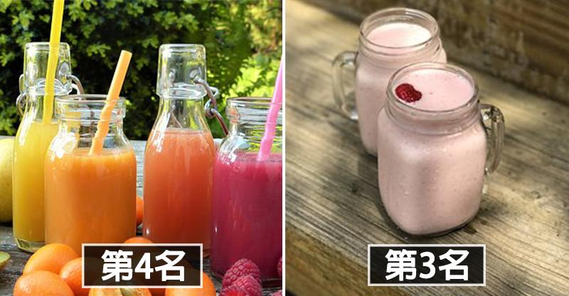 台灣人最愛的「10大手搖杯」排名出爐 「台灣之光」珍珠奶茶竟然只排到第2!