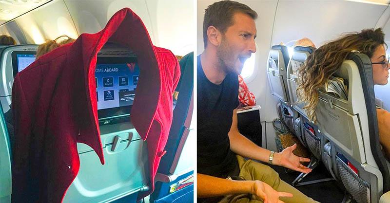 13個讓你「被空姐列入黑名單」的超奧客行為 搭飛機穿短褲的人很危險!