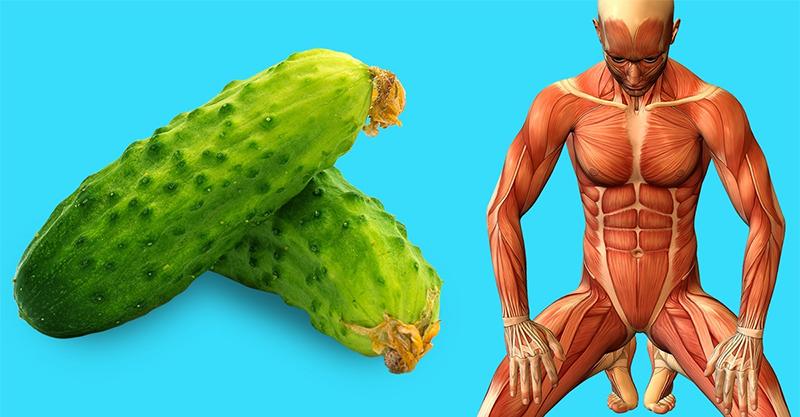 13個「堅持每天吃黃瓜」後的人體變化 女孩吃了馬上擁有「嬰兒肌膚」!