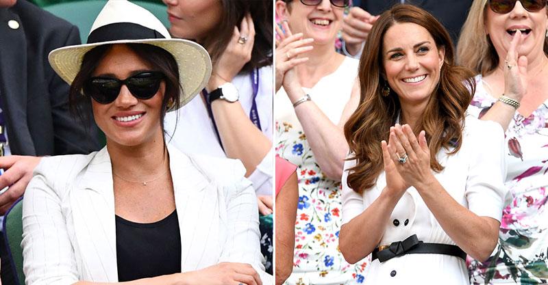 梅根「穿太隨便」出席溫網 無視規定「硬要戴帽」網暴怒:凱特才不會這樣!