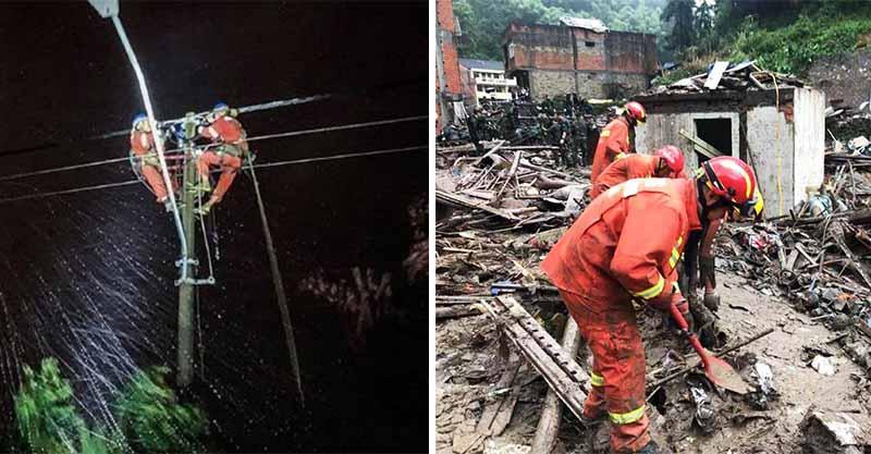 利奇馬颱風襲擊中國!他連修「8條電路」卻被迫休息...崩潰痛哭:我哪睡得著?