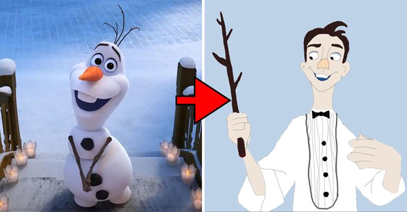 「迪士尼動物變成人」長怎樣?不是鐵粉沒辦法全認出來!