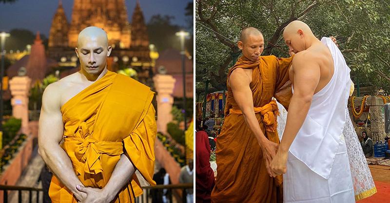 泰國最養眼「猛男和尚」爆紅 公開「鮮肉真面目」讓網戀愛❤