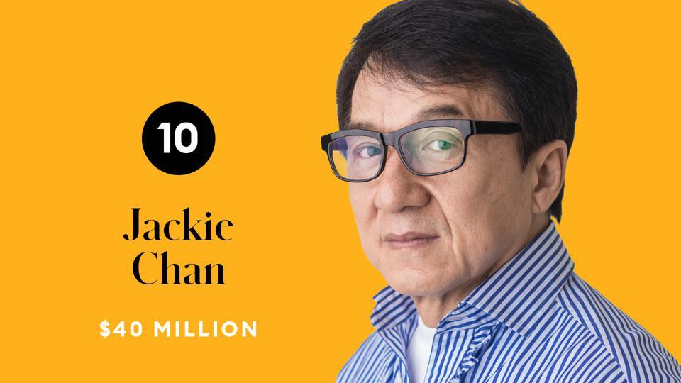 《富比士》公布今年「最賺男演員」排行 成龍風光當「華人第一」!