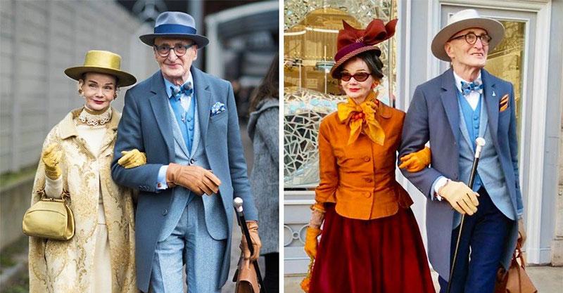 柏林「最時髦老夫妻」每天像跑趴 奶奶臉一轉...根本是赫本!