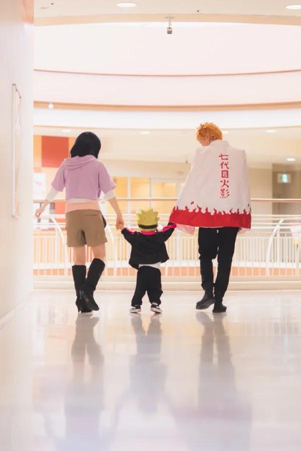 日本超強「家庭Cosplay」網路爆紅 神還原《火影》鳴門一家太溫馨!