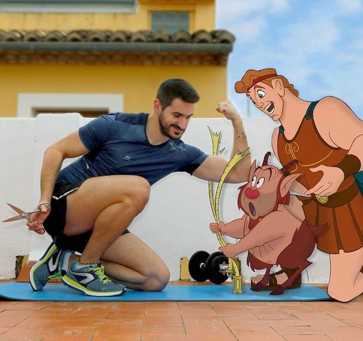 如果跟「迪士尼人物」一起生活?彭彭丁滿「煮大餐」讓你好想搬家~
